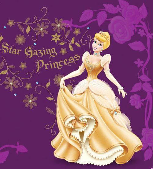 仙蒂公主和王子简笔画